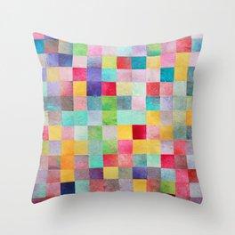 Pattern mosaic Throw Pillow