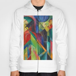 """Franz Marc """"Stables"""" Hoody"""