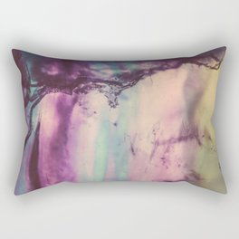 Purple Fluorite from our Earth Rectangular Pillow
