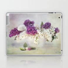 still life with lilac Laptop & iPad Skin