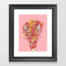 Melt! Framed Art Print