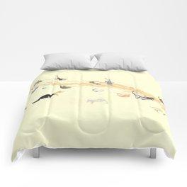 Laura Darlington on the Prowl Comforters