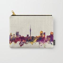 Auckland New Zealand Skyline Carry-All Pouch