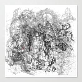 carré mystique Canvas Print