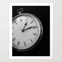 Fifteen Seconds Art Print