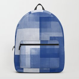 Untitled No. 7 | Blue + White Backpack