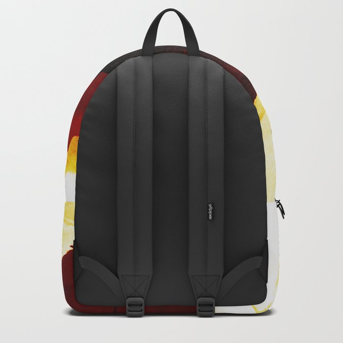 Red Isolation Backpack