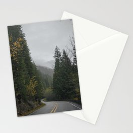 Windy PNW Road Stationery Cards