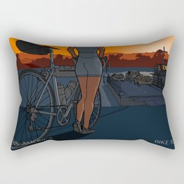 The Last Ferry Rectangular Pillow