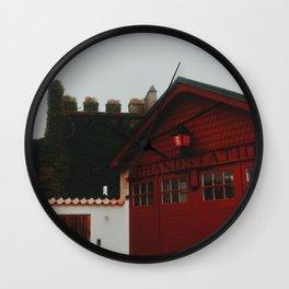 Visby brandstation, Island of Gotland, Sweden Wall Clock