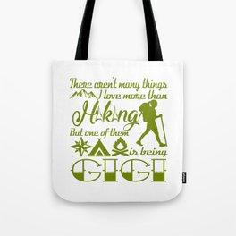 Hiking Gigi Tote Bag