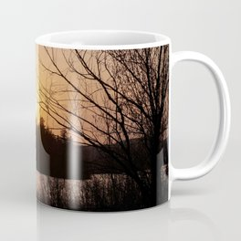 Sunset in Mont Tremblant Coffee Mug