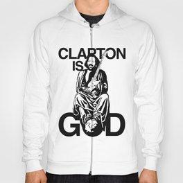 Clapton Is God Eric Clapton Hoody