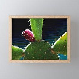 Cactus Needs A Hug Framed Mini Art Print