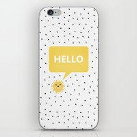 good morning iPhone & iPod Skins featuring Good Morning by Elisabeth Fredriksson