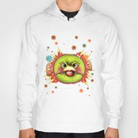 kiwi Hoodies featuring KIWI by Lihi Ascher Abraham