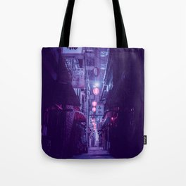 Tokyo Nights / One More Light / Liam Wong Tote Bag