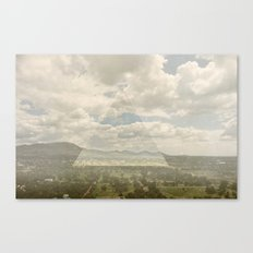 teotihuacan Canvas Print