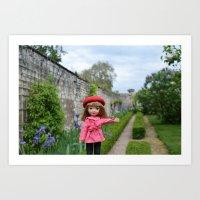 Gigi Loves Gardens II Art Print