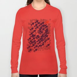 100 fishes Long Sleeve T-shirt