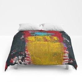 Baron Modern Art Black Comforters