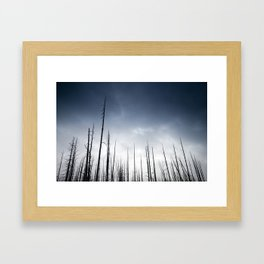 Another One Bites the Dust Framed Art Print