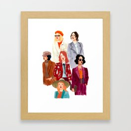 Blazer Ladies Framed Art Print