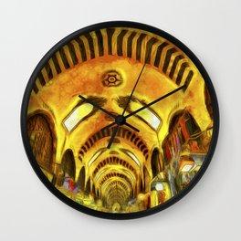 Spice Bazaar Istanbul Van gogh Wall Clock