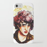 grantaire iPhone & iPod Cases featuring Grantaire watercolour by chazstity