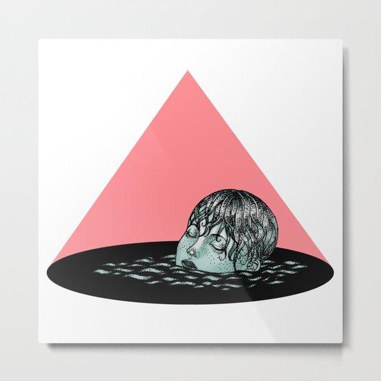 Sinking Metal Print