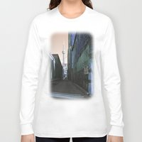 the shining Long Sleeve T-shirts featuring shining spire... by Chernobylbob