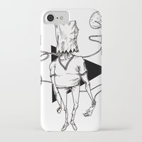 bag iPhone & iPod Cases featuring Bag by Hopler Art
