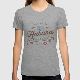 Vintage Havana Cuba Logo T-shirt
