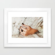 Fashion Framed Art Print