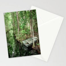 Swamp Boat Stationery Cards