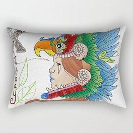 Mayan Huntress Rectangular Pillow