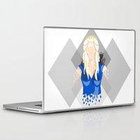 targaryen Laptop & iPad Skins featuring Daenerys Targaryen by itsamoose