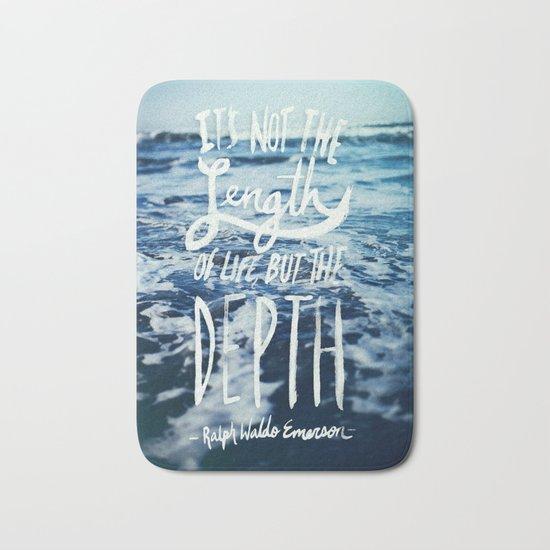 Depth x Ocean Bath Mat