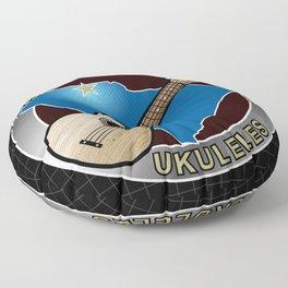 Spartanburg Ukuleles Floor Pillow