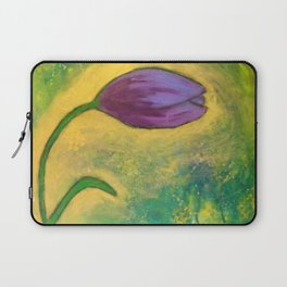 purple tulip Laptop Sleeve