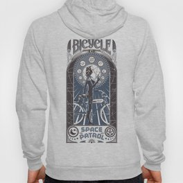 Bicycle Space Patrol Hoody