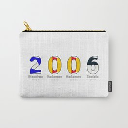 2006 - NAVY - My Year of Birth Carry-All Pouch