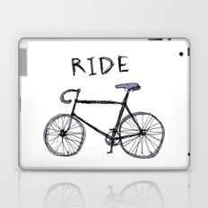 bike ride Laptop & iPad Skin
