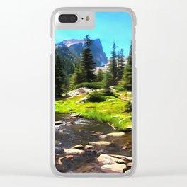 Emerald Lake Clear iPhone Case