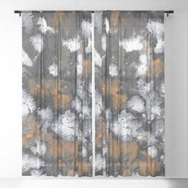 Electabuzz Abstract Sheer Curtain