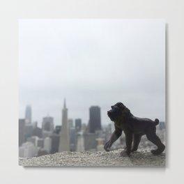 The Mandrill + San Francisco Metal Print