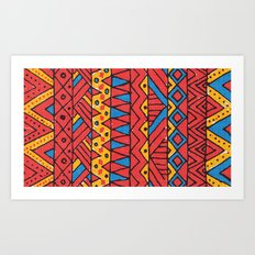Native Glam Art Print