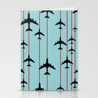 planes Stationery Cards featuring Planes by Frances Roughton