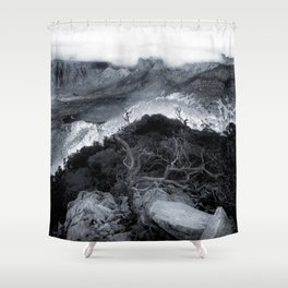 Emory's View Shower Curtain