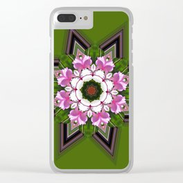 Magnolia Star Clear iPhone Case